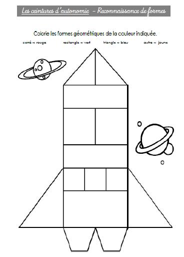 Blasons d 39 autonomie l 39 cole de crevette - Coloriage des formes geometriques ...