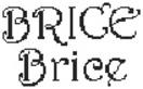 Dictons de la St Brice + grille prénom !