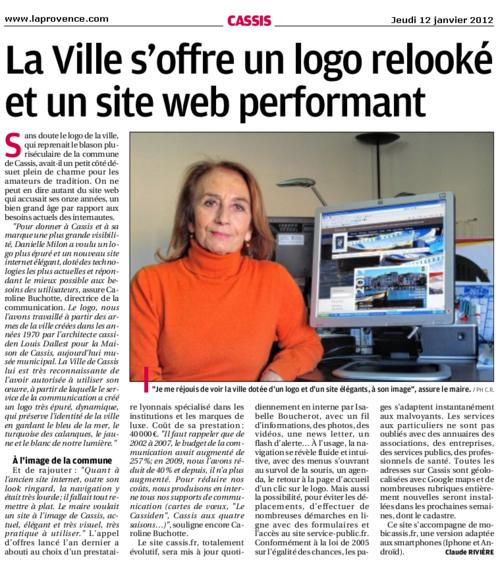 Cassis : La ville s'offre un logo relooké et un site web performant