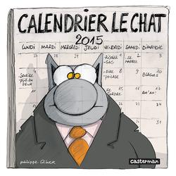 Le Calendrier Le Chat 2015 est arrivé !
