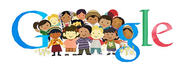 Journée Internationale des Droits de l'Enfant, doodle du jour