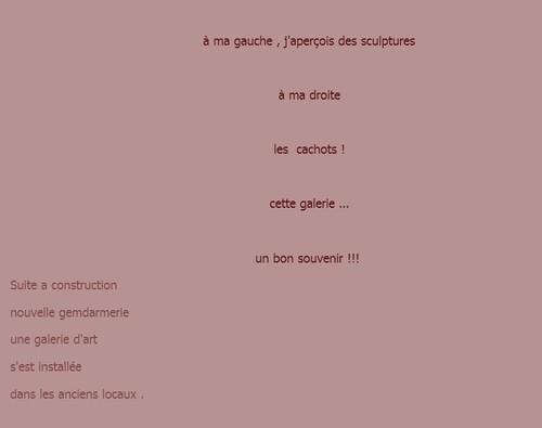 La galerie des souvenirs . 2 texte de M . Georges