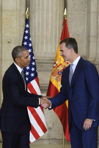 Felipe et Obama