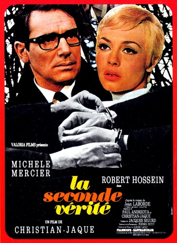 LA SECONDE VERITE - MICHELE MERCIER BOX OFFICE 1966