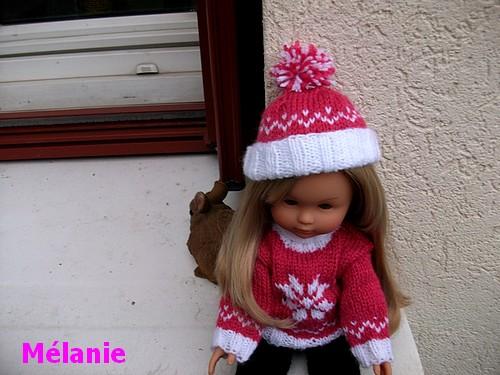 Chapeau ton bonnet Mélanie !