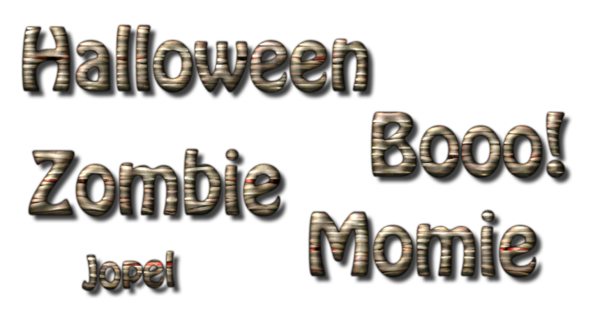 Les momies zombies Boooo!!