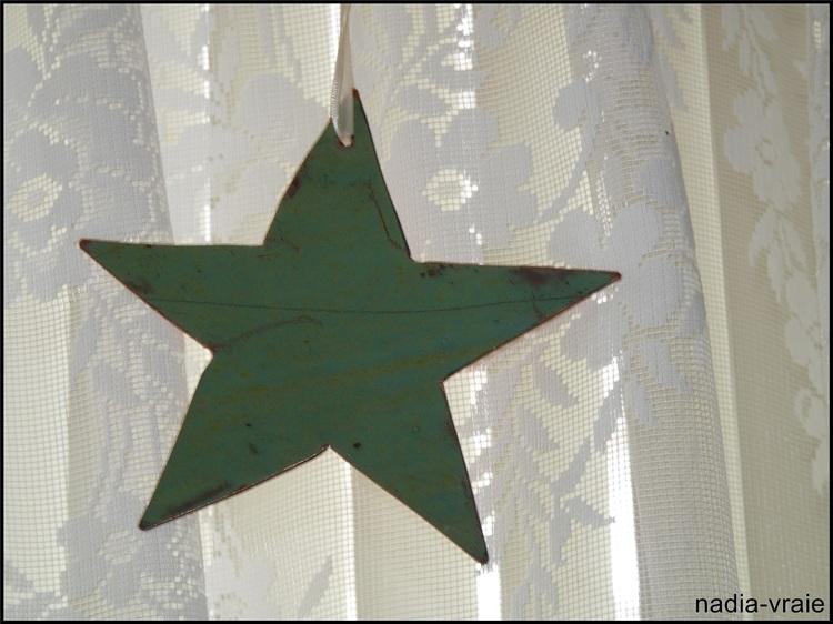 Une étoile spéciale. (Défi chaque mois chez khanel: (janvier: un symbole : une étoile)