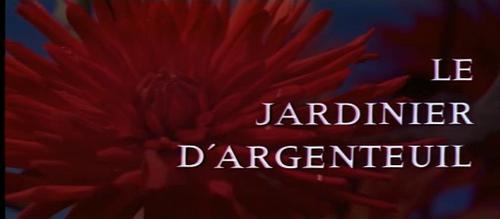 LE JARDINIER D'ARGENTEUIL - BOX OFFICE JEAN GABIN 1966