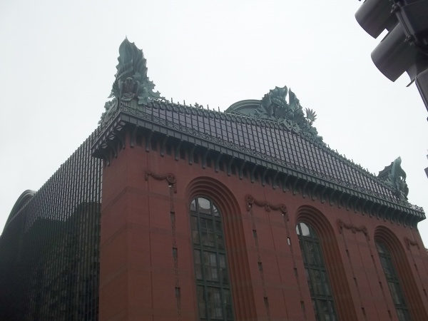 10 - Harold Washington Library.