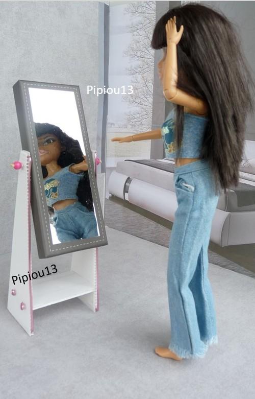 Studio-photos Barbie : la chambre est terminée