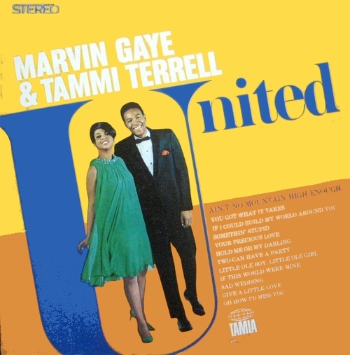 "Marvin Gaye & Tammi Terrell : Album "" United "" Tamla Records TS 277 [ US ]"