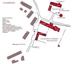 - XVI siècle. Le manoir de la Landeboulou