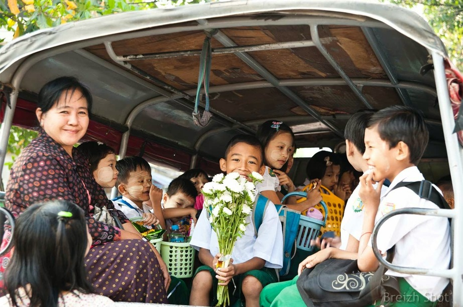 Shwedagon : Le pick up