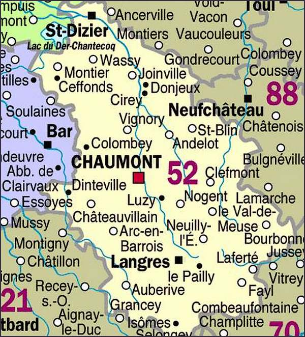 Chaumont en Champagne