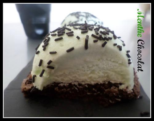 Bavarois menthe chocolat
