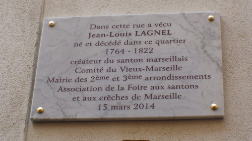 * PLAQUE COMMEMORATIVE JEAN-LOUIS LAGNEL