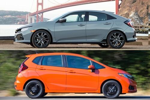 2019 Honda Civic vs. 2019 Honda Fit: Worin besteht der Unterschied?