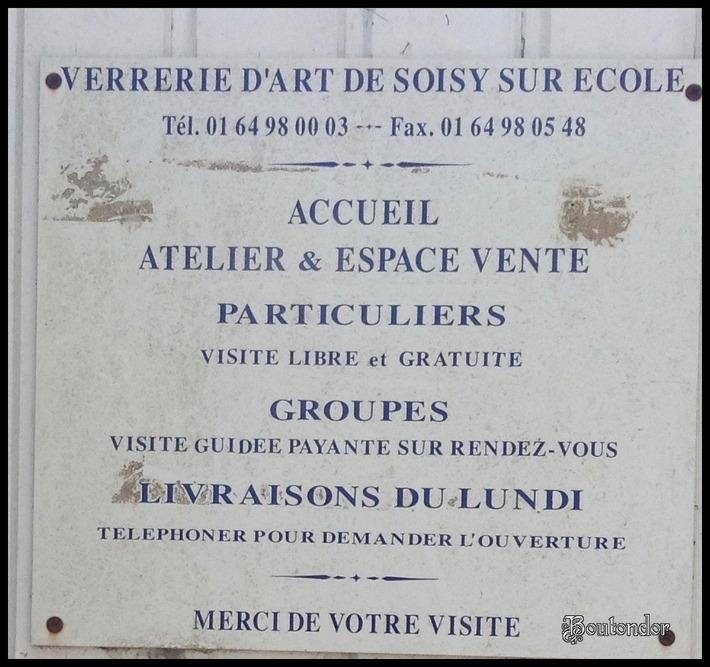 Soisy-sur-l'Ecole : le verrie de soisy
