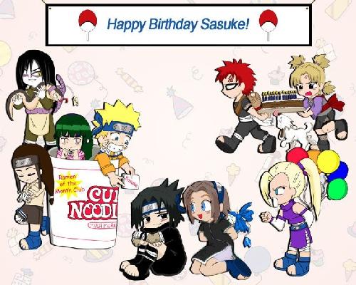 Bon anniversaire Sasuke !