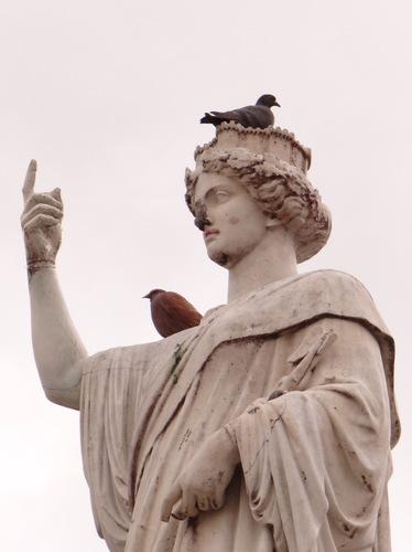 Nantes #3 - Statue de la fontaine de la Place Royale