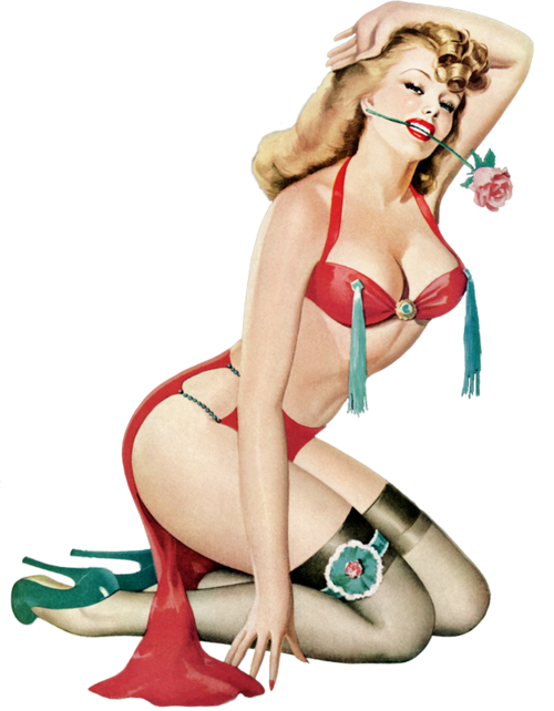 Femme pin-up 1