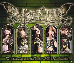 """Pochettes des éditions DVD et Blu-ray de la tournée """"Monster"""""""