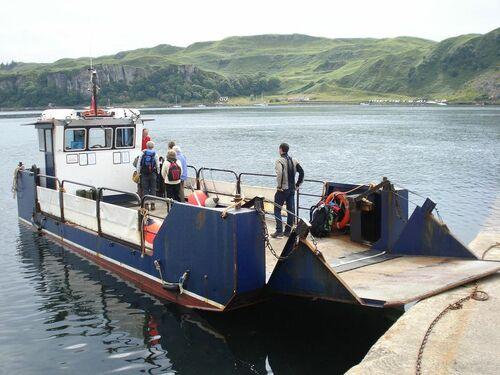 Bateaux d'Ecosse