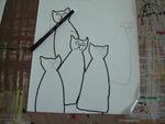 arts visuels, chats