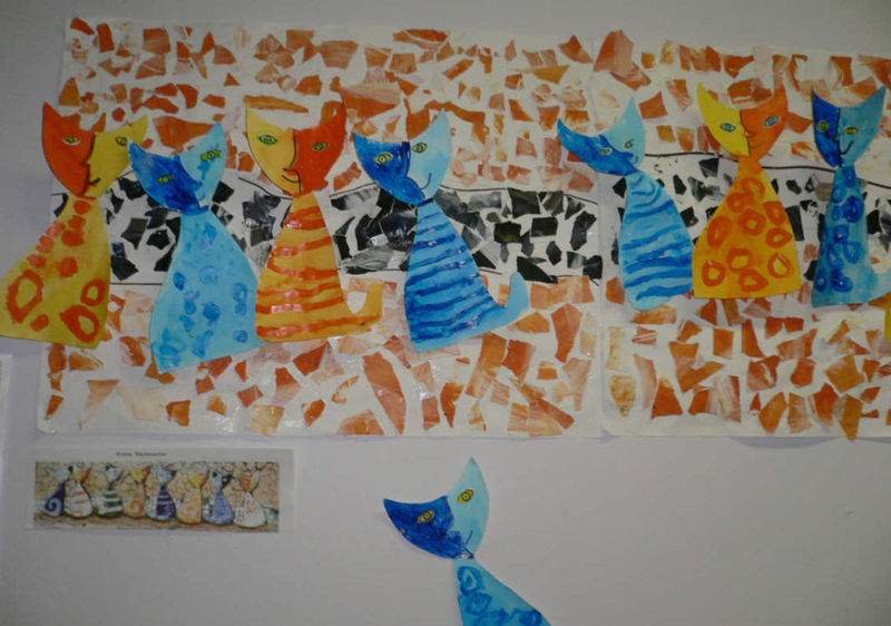 Coloriage Chat Rosina Wachtmeister.Wachtmeister Rosina La Classe Atelier