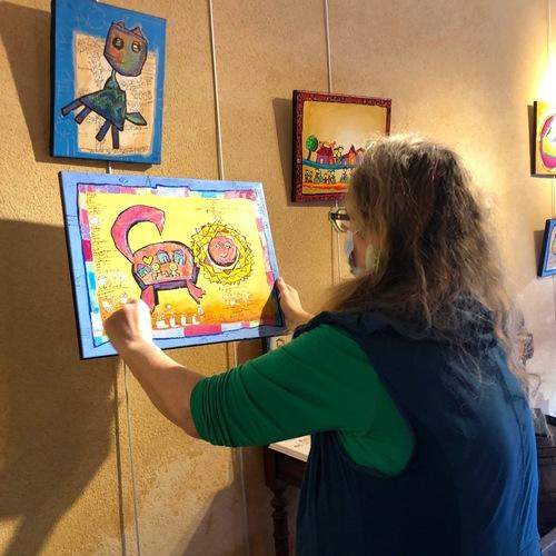 Les Poiré Guallino en exposition