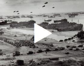 Le débarquement des troupes alliées le 6 juin 1944 en Normandie