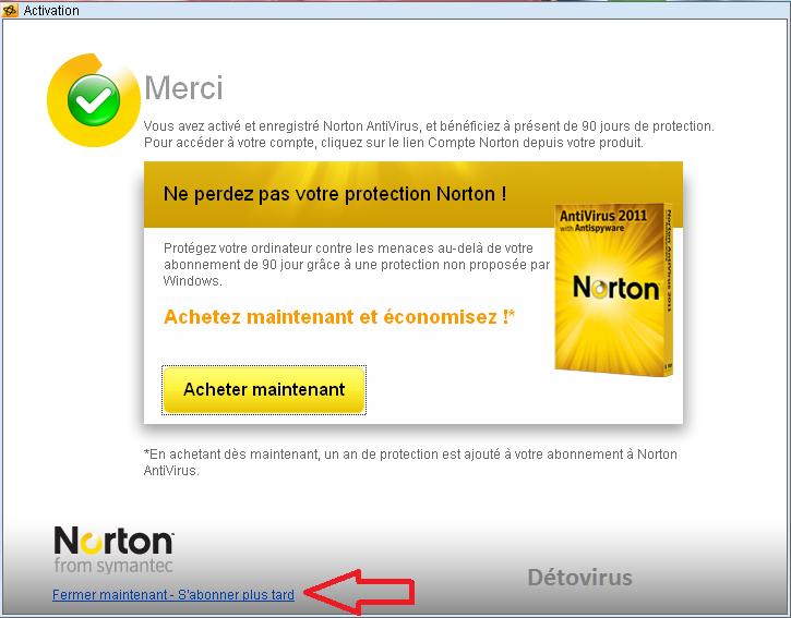 norton antivirus gratuit 180 jours