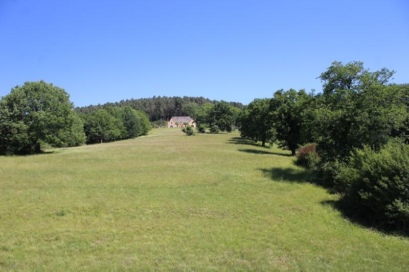 La vue en haut du château de Puymartin