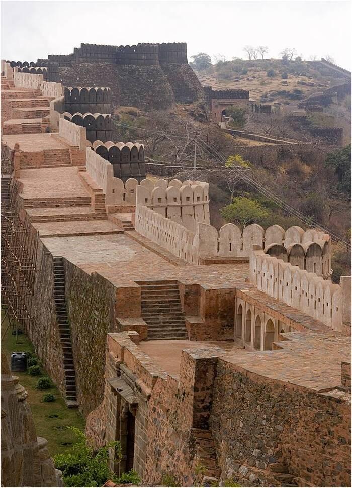 Kumbhalgarh – La Grande Muraille d'Inde