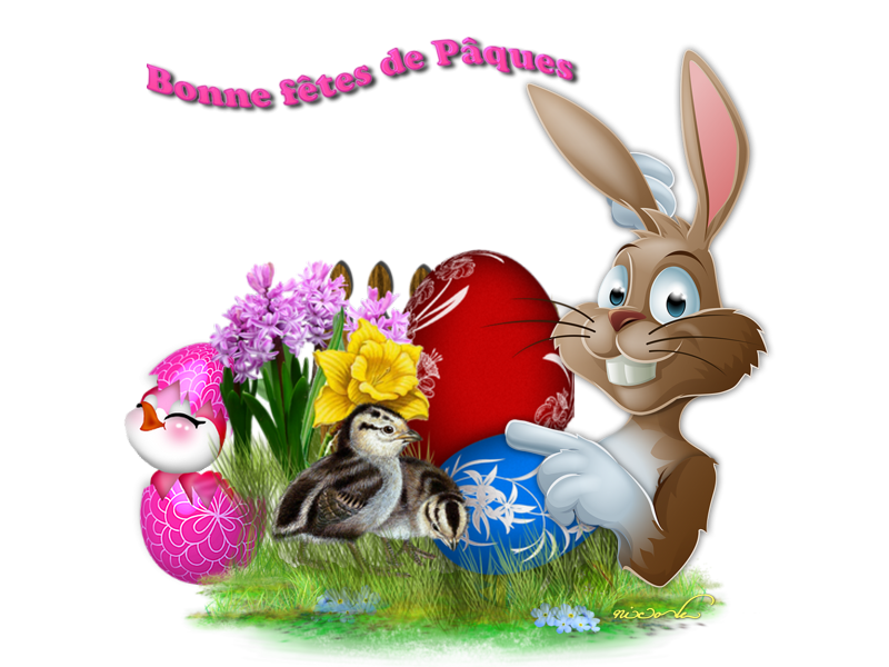 JOYEUSES PAQUES MES AMIS