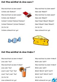 Dans le cahier (Portfolio) d'allemand 5H
