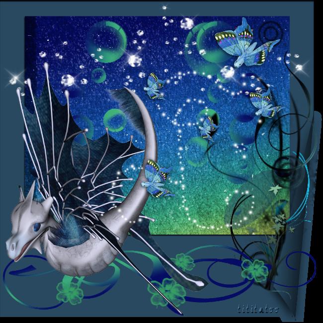 Atelier poser leafy rêve aquatique