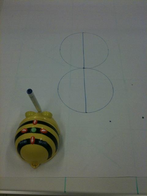 Bee-bot dessiner