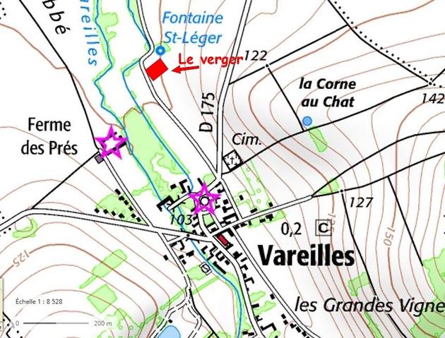 Le verger de sauvegarde de Les-Vallées-de- la-Vanne