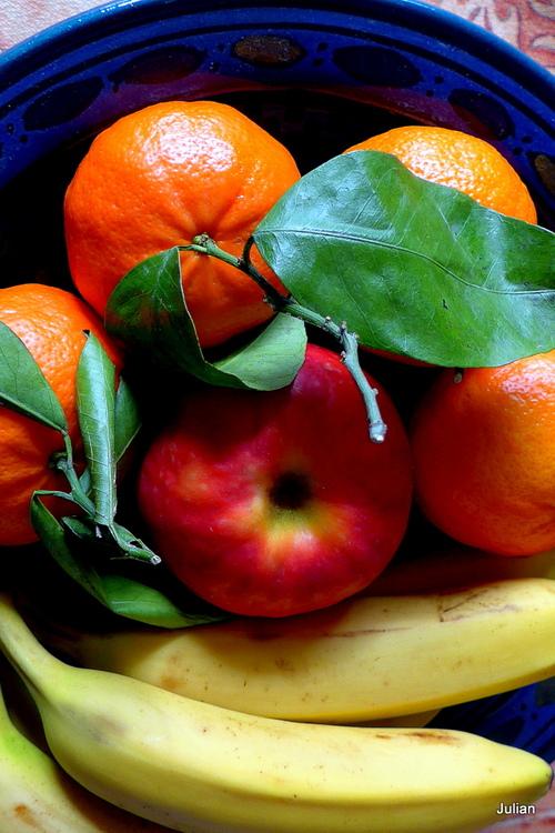Des fruits ...