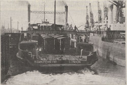 Les ferry-boats en la Grande-Bretagne et le continent