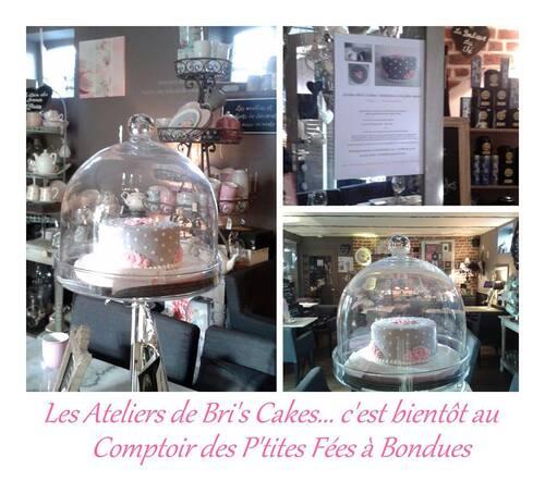 """Atelier """"So Romantic"""" au Comptoir des p'tites fées à Bondues"""
