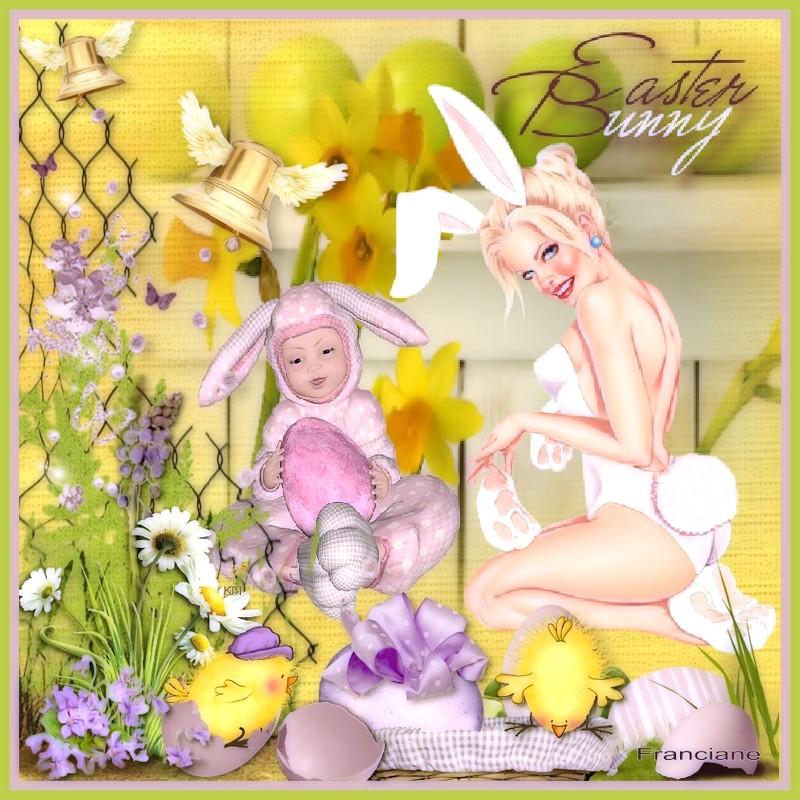 Bonnes fêtes de Pâques ! bisous