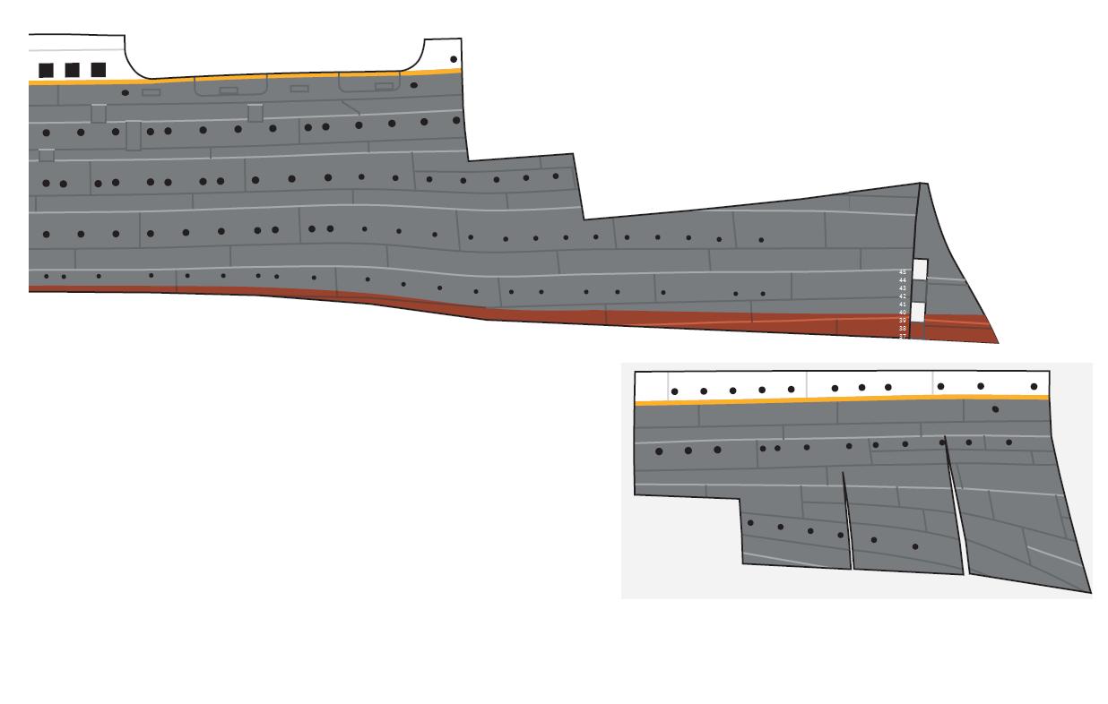 Rms Titanic Maquette D 1 M 22 Sur 13 Cm De Large Tdhclubbateau