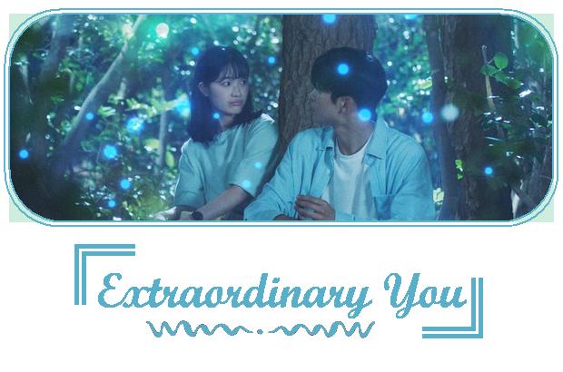 ✎ Extraordinary You