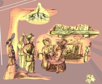 Histoire dessinée et 3D