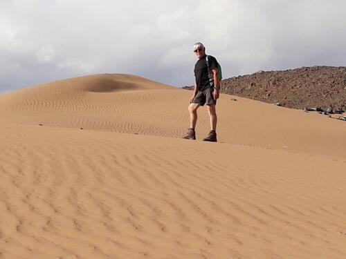 Au seommet de la dune