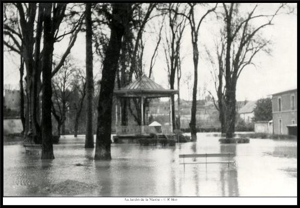 Les inondations de 1955 à Châtillon sur Seine, seconde partie...