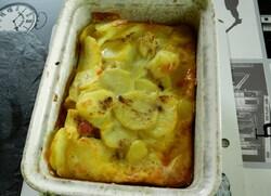 Omelette aux pomme de terre cuite au four