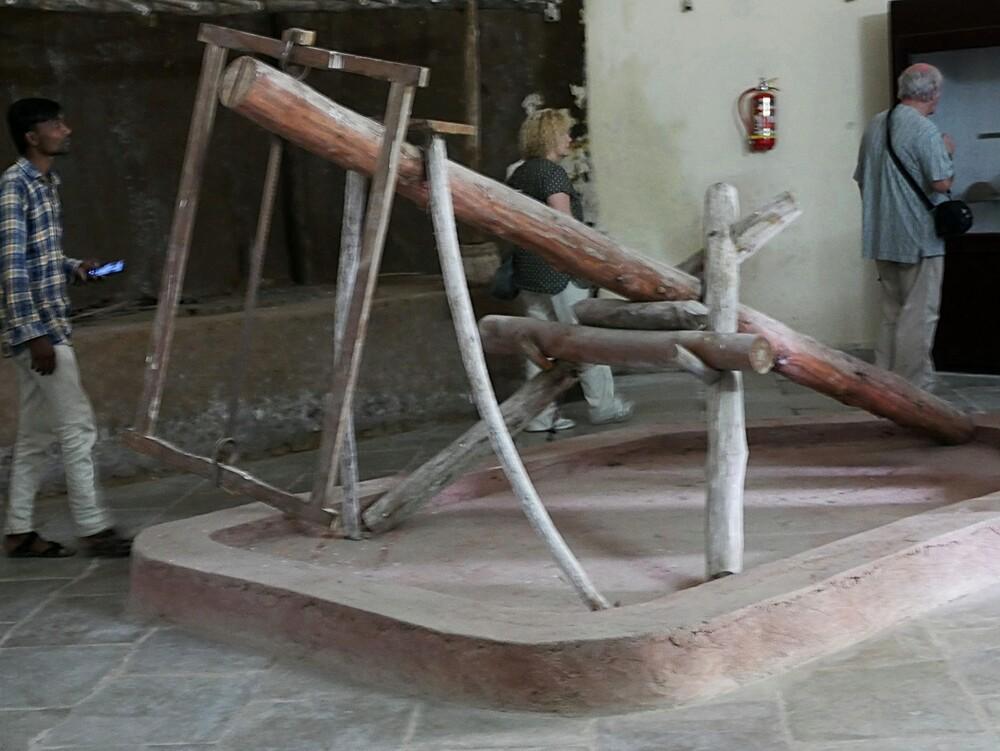 Le musée Chhota Udaipur - Gujarat - Inde